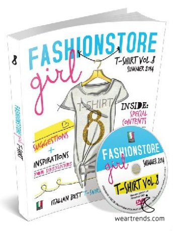 FASHIONSTORE girl T-shirt N.8